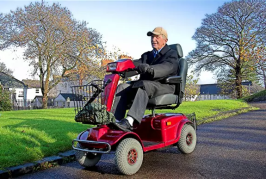 Rock Your Old Age And Move Around Freely In Medical Scooters